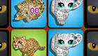 gratis : Juego de memoria de felinos salvajes