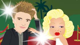 famosos : Test de amor de famosos