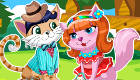 vestir : Cita romántica de gatos