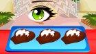 Deliciosos pasteles de chocolate