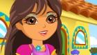 famosos : Limpia la casa de Dora
