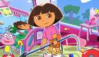 famosos : Limpiar con Dora la exploradora