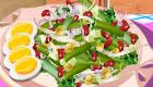 cocina : Ensalada de judías verdes