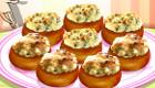 cocina : Cocinar champiñones rellenos