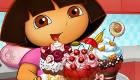 Decorar pasteles de Dora