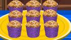 cocina : Receta de muffins de plátano