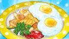Juego de cocinar el desayuno