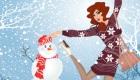 vestir : Juego de vestir de nieve