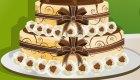 decoración : Maravillosa tarta de boda