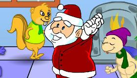 decoración : Fiesta de Navidad con animales