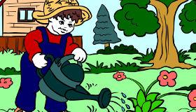 gratis : Juegos de arte en el jardín