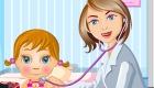 Juego de doctora de bebés
