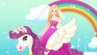 famosos : El caballo de Barbie