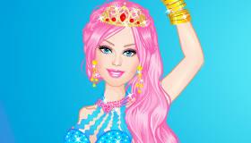 famosos : Vestir a Barbie Sirena