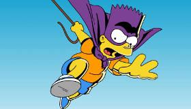 Bart Simpson contra los helicópteros