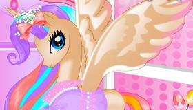 vestir : Princesa Pony de cumpleaños