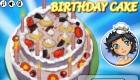 cocina : Hacer una tarta de cumpleaños