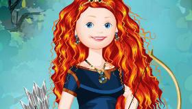 famosos : Juego de princesa Brave - 10