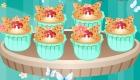 Cocina pasteles de mariposa