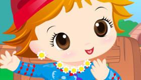vestir : Juego de vestir a un adorable bebé