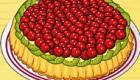 Cocinar un pastel de cereza