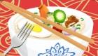 cocina : Juego de comida china - 6