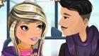 vestir : Vestir de esquí a una pareja