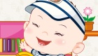 vestir : Vestir a un precioso bebé