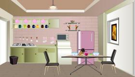 decoración : Una cocina para las chicas - 7