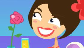 gratis : Besos románticos en el restaurante