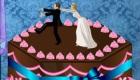 Decorar un pastel de boda