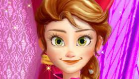 maquillaje : Anna Frozen cambia de look