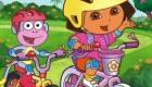 famosos : La bici de Dora la Exploradora