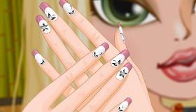 maquillaje : Uñas a la manicura francesa