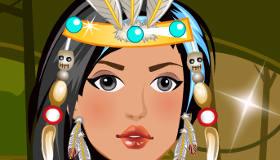 vestir : Pocahontas de emo
