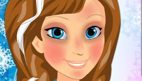 Anna de Frozen maquillaje profesional