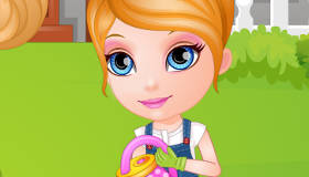 famosos : Niñera de Barbie bebé - 10