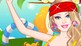 famosos : Vestir a Barbie para pilates