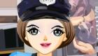 vestir : Juego de chica policía