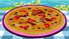 Juego de pizza de marisco