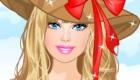 vestir : Barbie y sus vestidos de flores