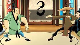 gratis : Piedra, papel o tijera samurái