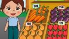 Juega a tener una tienda de fruta y verdura