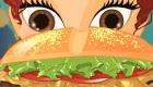 cocina : Cocina sabrosas hamburguesas