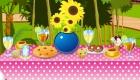decoración : Juego de decorar el jardín para una fiesta