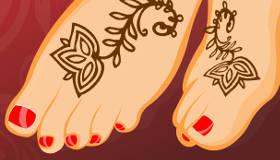 maquillaje : Nail art y tatuajes de henna