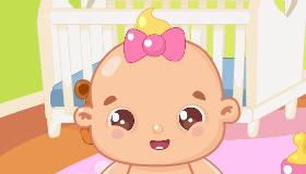 gratis : Bebé juega a escondidas