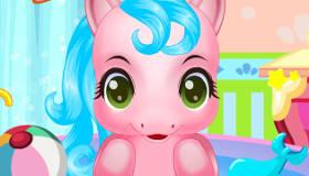 gratis : Baño de ponis bebés