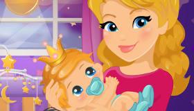 Dulces sueños para una bebé princesa