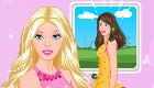 famosos : Juego con Barbie